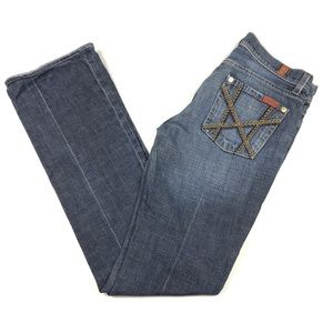 Seven 7 For All Mankind Bootcut Straight Leg Jeans